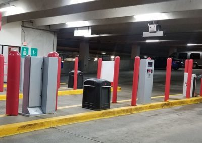 Parking Garage Bollard Covers