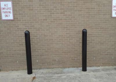 Black Bollard Covers