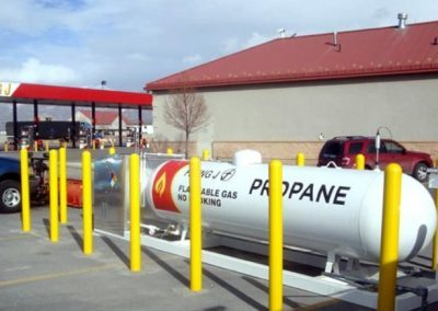 Propane Tank Protection Bollard Covers