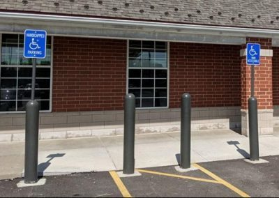 Walgreens Gray Bollard Covers