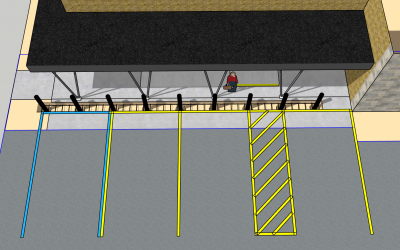 Bollard Barriers for Store Front Protection