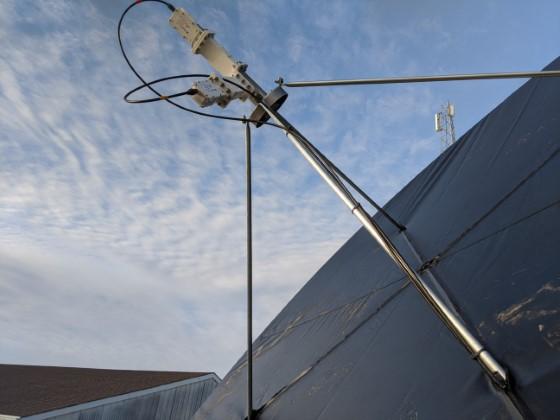 5G Filtered Feedhorn Polarization Tuning