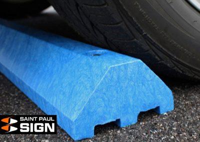 Blue Standard Parking Block