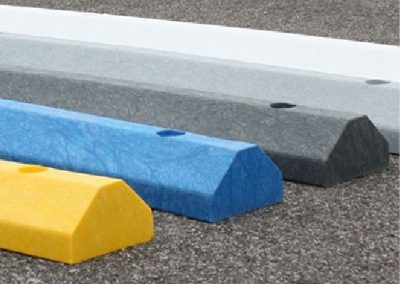 Standard Parking Block in Yellow, Blue, Dark Gray and Light Gray (Green & White not shown)