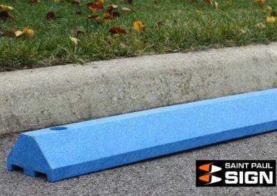 Standard Parking Block Blue