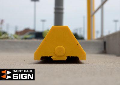 Yellow Parking Block Profile